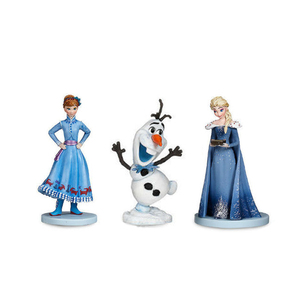 Image 3 - 10Pcs/set Frozen2 Snow Queen Elsa Anna  PVC Action Figures Olaf Kristoff Sven Anime Dolls Figurines Kids Toys For Children Gifts