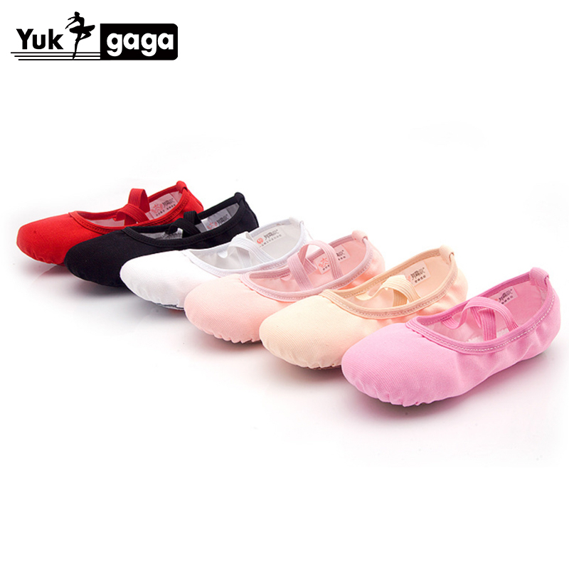 Ballet Dance Dancing Shoes Pointe For Children Kids Girls Women Soft Flats Shoes Comfortable Fitness Breathable Slippers