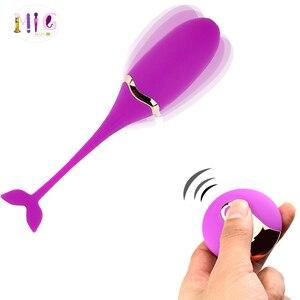 Image 1 - Vibrator wireless jump egg female flirting masturbator shrink penis adult products Choose any three More style