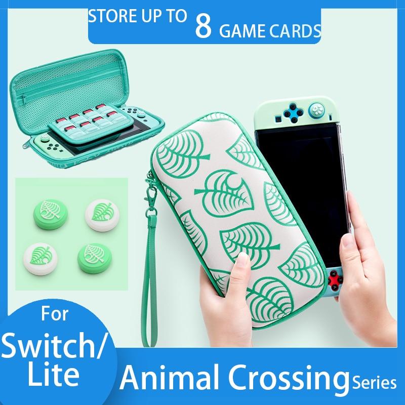 Rocker Thumb Grip Caps Portable Animal Crossing Carrying Case Bag