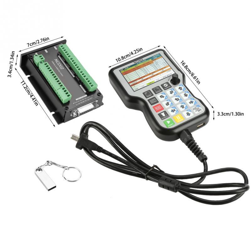 NCH02 карта USB ЧПУ система управления движением Ось управления Лер плата до 125K шаговый двигатель