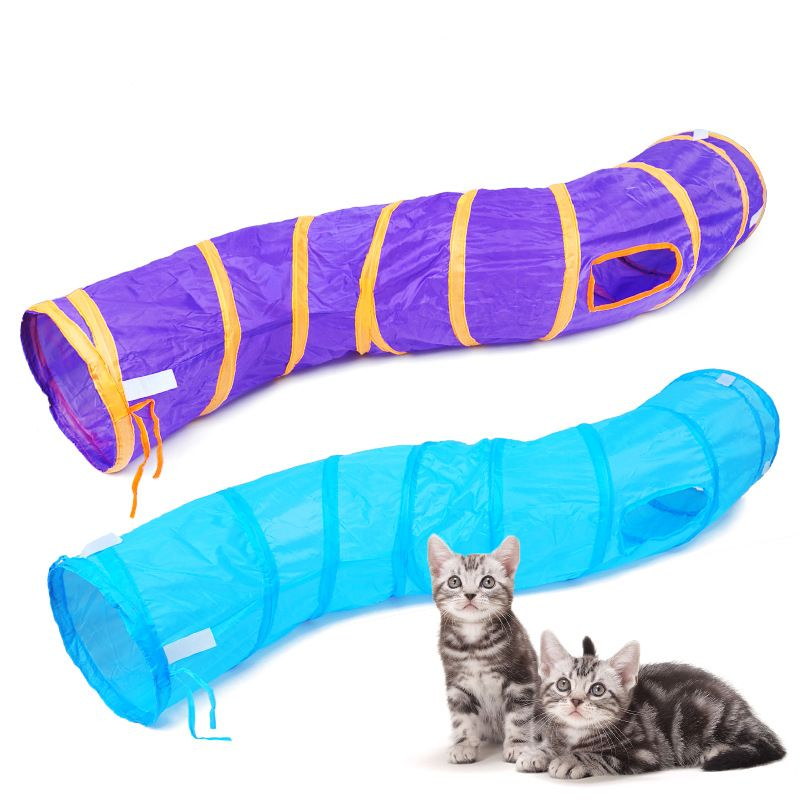 Pet Tunnel Toys Collapsible Cat Dog  Tent