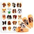 Мультяшные наклейки для собак, Стильные наклейки для ногтей, животные, милые корги для ноутбука, товары для домашних животных, вечерние накл...