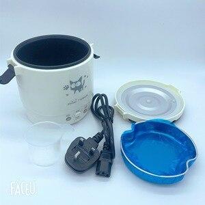 Image 5 - 1L جهاز طهي الأرز المستخدم في المنزل 110 فولت إلى 220 فولت أو سيارة 12 فولت إلى 24 فولت بما فيه الكفاية لشخصين مع تعليمات اللغة الإنجليزية