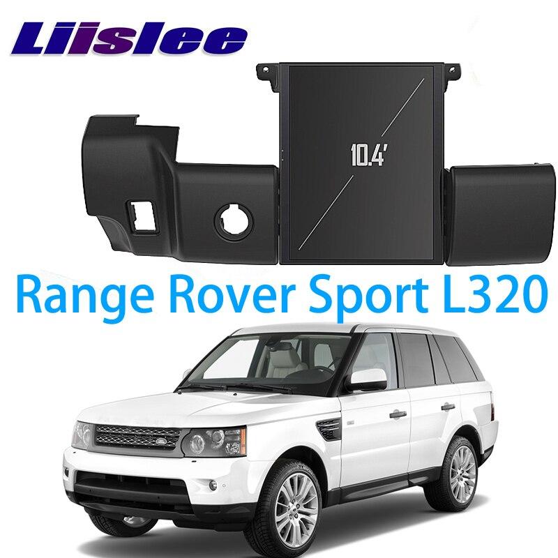 LiisLee voiture multimédia GPS Audio Radio stéréo pour Land Rover pour Range Rover Sport L320 RR 2009 2010 2011 2012 2013 Navigation