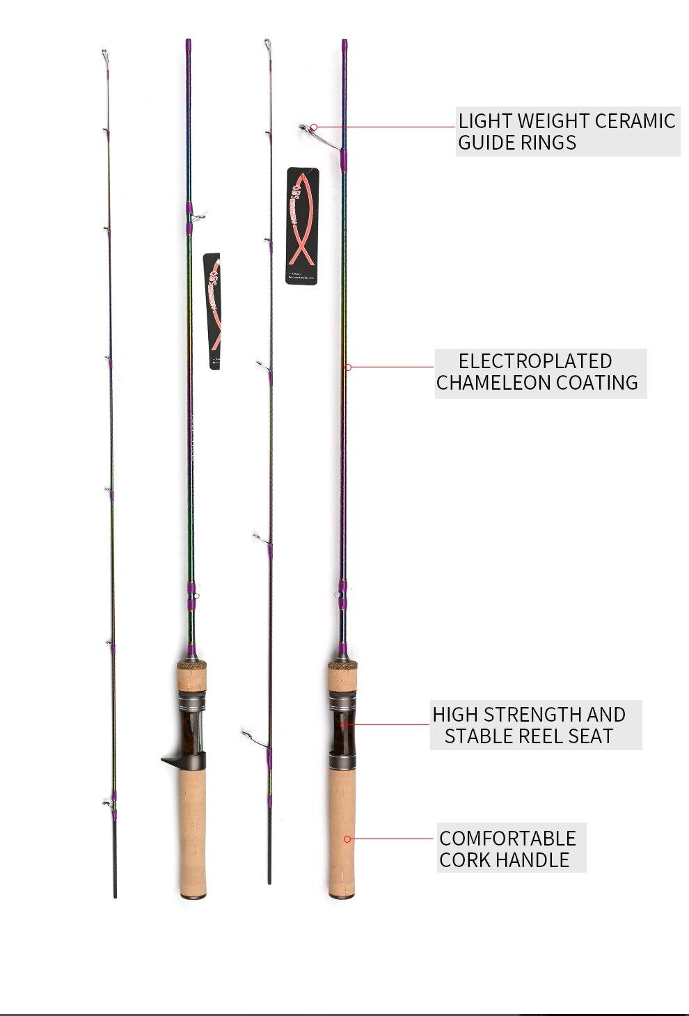 Cheap Varas de pescar