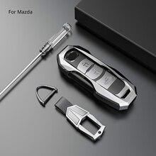 Zinc alloy Car Remote Key Case Cover shell For Mazda 2 3 5 6 Atenza Axela Demio CX-4 CX-5 CX5 CX-3 CX7 CX-9 2016 2017 2018 2019