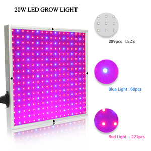 Image 5 - 120W 1155Red+210Blue AC85~265V LED Plant Grow Light Lamps For Flowering Plant and Hydroponics System Indoor Led fitolamp Panel