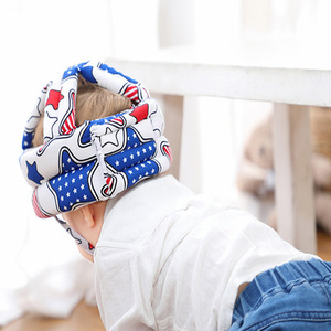 Защитные головные уборы для шлема QXMY Baby, защита головы для малышей, защита от падения, дети учатся ходить, Противоударная Кепка