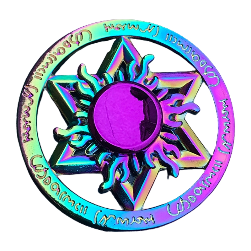 Toy Fidget-Spinner Lotus-Stress Metal Relief Colorful New Gift Dart Butterfly Kids img5