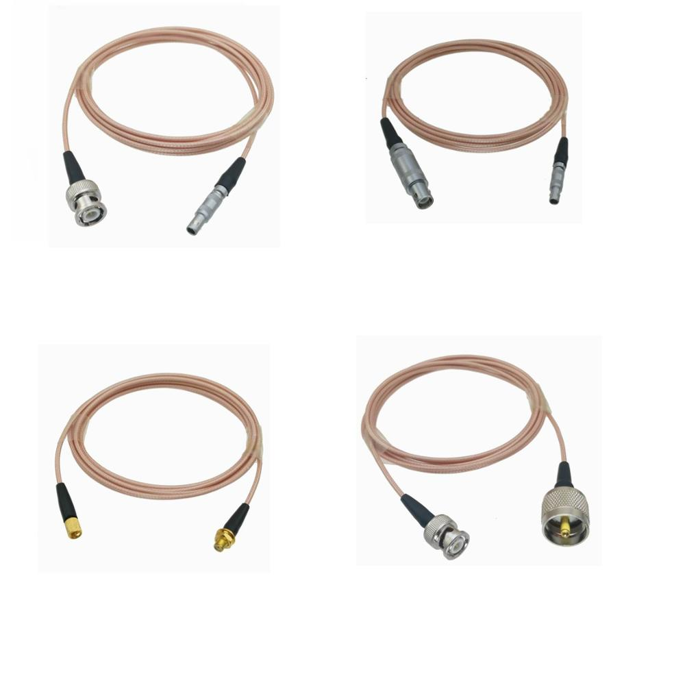 RG316 Cable Equality LEMO 00S C5 Male / BNC / Mircrodot to LEMO 1S C9 / UHF PL259 for Ultrasonic Equipment Flaw Detector 6FT|Connectors| |  - title=