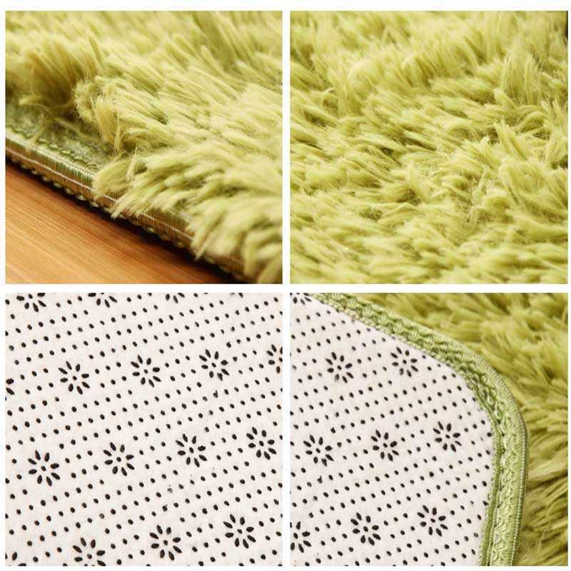 현대 푹신한 큰 카펫 차 테이블 피트 편안한 러그 침실 footcloth 얽히고 설킨 침대 옆 매트 베이비 룸 체육관 러그