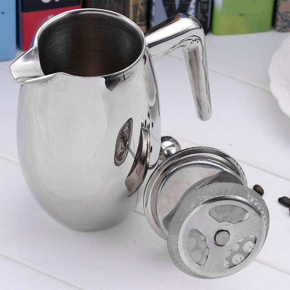 de café com filtro moka acessório aço