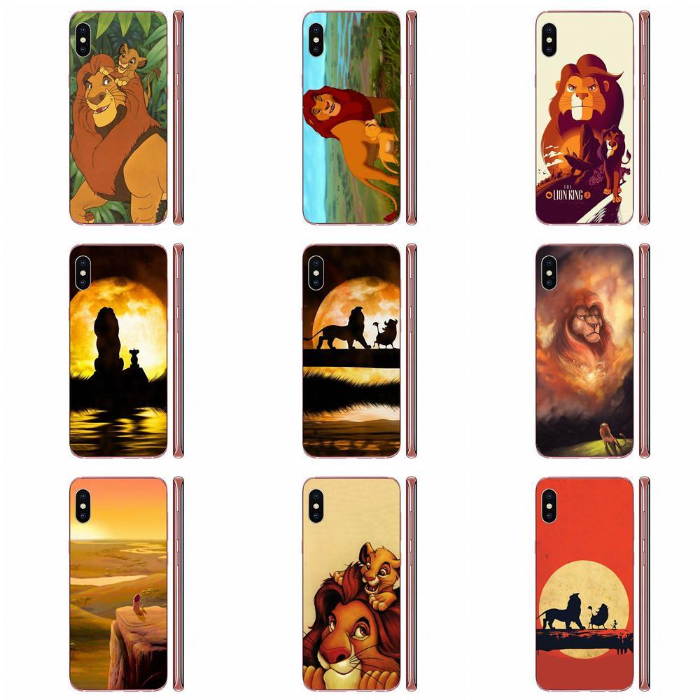 Phone Case Transparent Fundas Coque Cover For LG K50 Q6 Q7 Q8 Q60 X Power 2 3 Nexus 5 5X V10 V20 V30 V40 Q Stylus Le Roi Lion