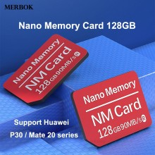 90MB/S NM Card Nano Memory 128GB NM-Card For Huawei P30 P 30 Pro P30Pro Dual-use Type-C USB3.0 High Speed TF/NM Reade