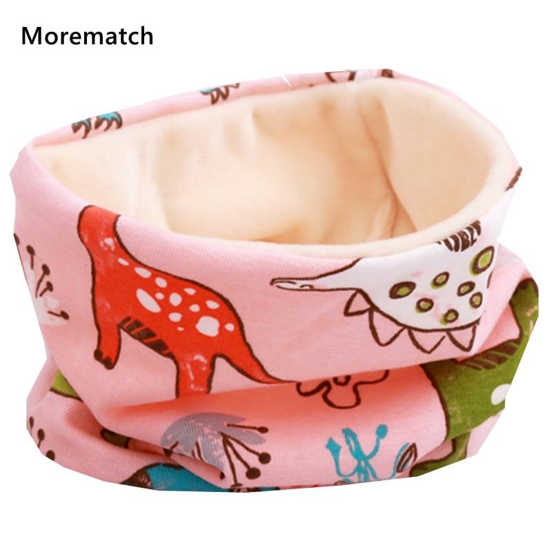 HOT! New Autumn Winter Children Cotton Plush Scarf Kids Girls Scarf Boys And Girls Scarves Child Collar O Ring Magic Neckerchief