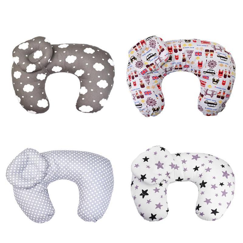 2pcs/Set Baby Nursing Pillow Maternity U-Shape Cotton Breastfeeding Cushion