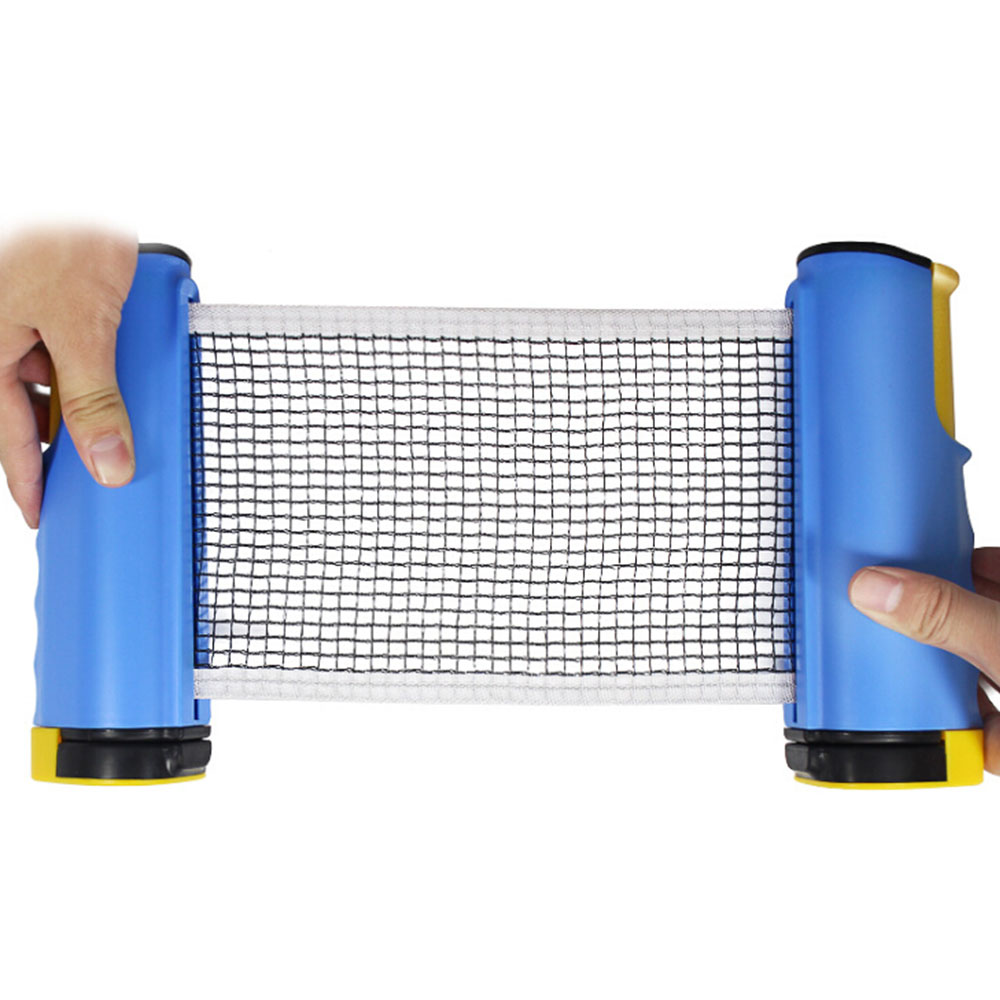 Retractable Table Tennis Net Table Grid Plastic Strong Mesh Portable Net Kit Net Rack Replace Kit For Ping Pong Playing New M20