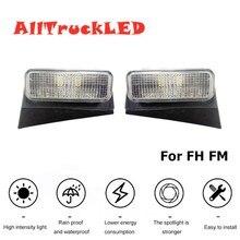 1pair LED Lights For New Volvo TRUCK FH FM TRUCK Front Top Light 24V For volvo side marker Light OEM 82349221 82348508 82349220