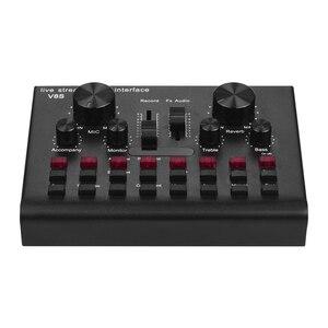 Image 5 - Multifunzionale In Diretta Streaming Scheda Audio USB Interfaccia Audio Mixer Dispositivo Vocale DJ Karaoke Attrezzature 16 Effetti di Sostegno