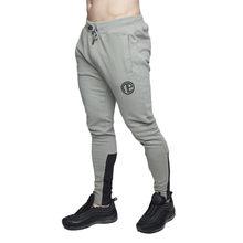 Roupas de alta qualidade da marca Gykz jogger calças calças musculação calças parágrafos outono dos homens de fitness suor cal