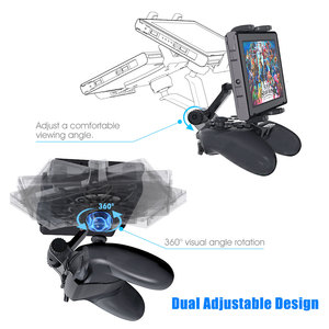 Image 2 - Switch Pro Controller Clip Mount Holder Pro Controller Adjustable Clamp Handle Rotate Bracket for Nintend Switch/ Lite Console