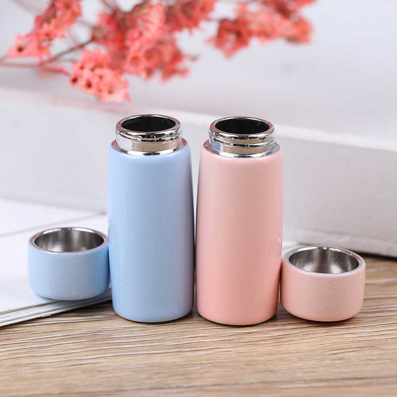 1:12 Dollhouse Miniature Thermos Cups Miniature Food Play Scene Doll House Accessories Thermo Water Cup Doll House Decoration