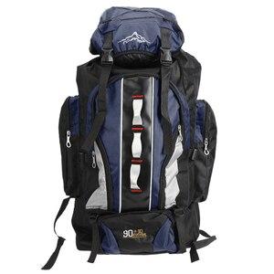 Image 2 - 100L büyük kapasiteli açık spor sırt çantası su geçirmez seyahat çantası yürüyüş tırmanma balıkçılık kamp çanta erkekler ve kadınlar için