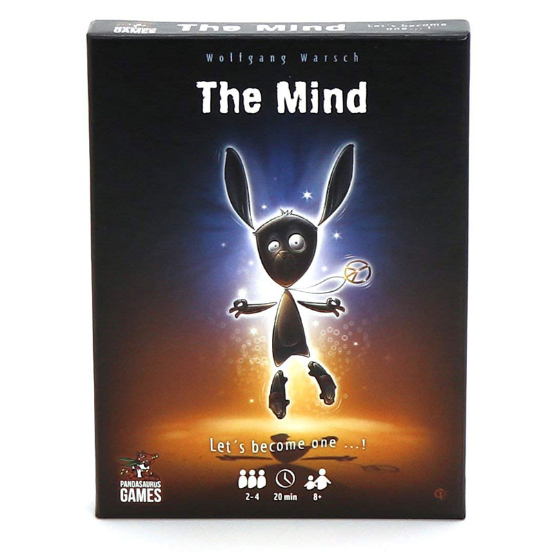 The Mind Card Game Board Game for adults Family Friends Interactive Fun Puzzle Children's Educational Toys image