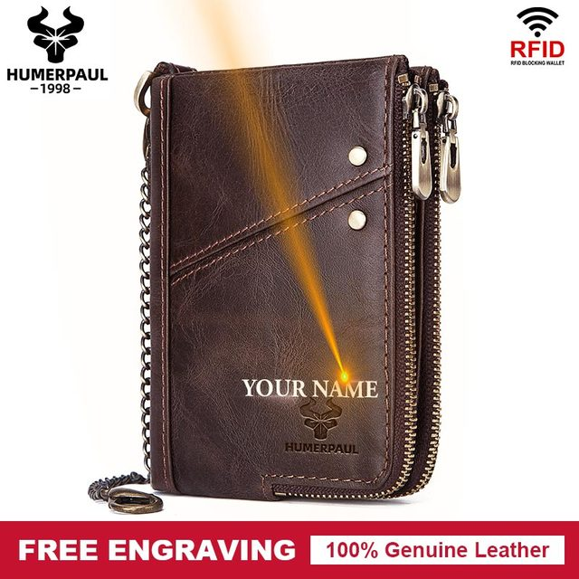 2020 Classic Style Men Wallets Genuine Leather Short  Male Coin Purse Cards Holder High Quality Pocket Retro Purse For Man