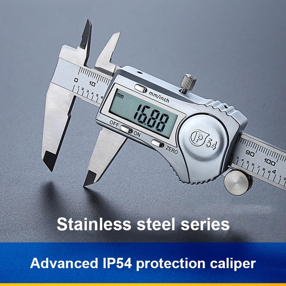 "6/"" 150mm Stainless Steel Electronic Digital Vernier Caliper Micrometer US Stock"