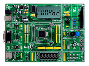 EasyPIC Pro Learning Evaluation Development Board DsPIC PIC32 PIC24 with DsPIC30F6010A(China)