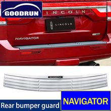 Для lincoln навигатор Нержавеющаясталь автомобиля задний бампер