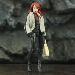"Custom Marvel Legends Mary Jane Watson MJ 6"" Action Figure Amazing Spider-Man Crimson She-Devil Spiderman Girl Friend Toys Doll(China)"