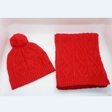 013# шапка и шарф бесплатная доставка шарф и шапка для мужчин и женщин внешней торговли Кепка шапка шарф набор