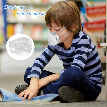 Fast Delivery Children's Smart Electric Anti Air Purification Automatic Fresh Sports Dustproof Face Mask Respirator