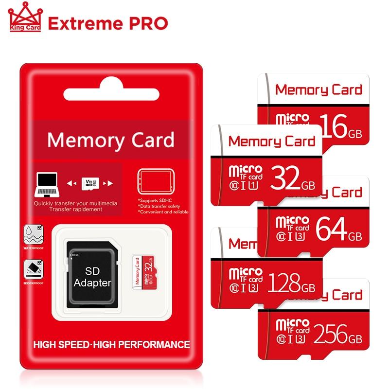 Tarjeta de memoria Ultra de 16GB, tarjeta Micro SD de 32gb, 64gb, 128gb, Clase 10, tarjeta memoire Mini TF con Adaptador SD gratuito