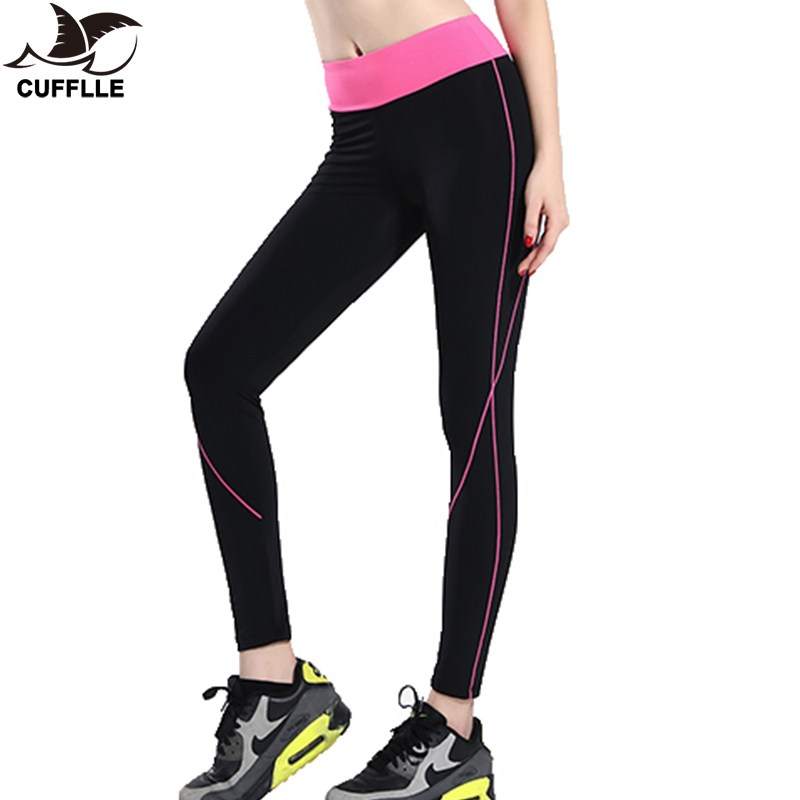 Cufflle 2019 Fitness Women Running Leggings Sports Elastic Pants For Yoga Gym Women Sport Trousers Running Tights Running Pants Aliexpress