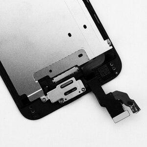 Image 2 - 5 יח\חבילה LCD מסך עבור iPhone 6G 6S מלא סט תצוגת Digitizer עצרת עם לחצן בית + מצלמה קדמית + רמקול
