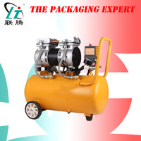 Air Compressor Oil Free Low Noise Silent Oil free Pump For Pneumatic Part Cylinders Filling Machine Free Shipping 1000w 30L Tank|Food Filling Machines| |  -