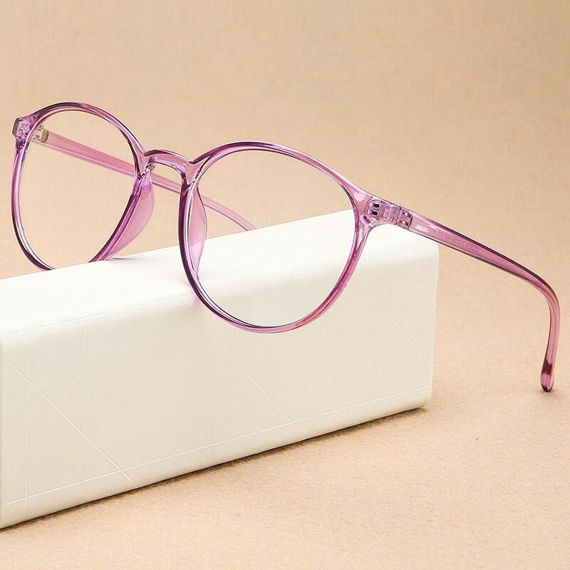 KOTTDO 2019 Fashion Round Women Glasses Frame Student Ultra-light Transparent Optical Glasses Frame Eye Glasses Frames For Men