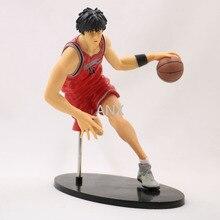 цена на 19CM Anime Slam Dunk Kaede Rukawa Figure PVC Action Slam Dunk Figures Collection Model Hanamichi Sakuragi