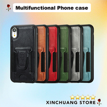 Wallet Case for iPhone 11 Pro Max Apple 12  X XR XS  with Credit Card Holder Shockproof Premium PU Business Phone Protection