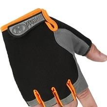 Спортивные перчатки без пальцев велосипедные перчатки Фитнес многофункциональный перчатки тренировка для тяжелой атлетики, бодибилдинга тренажерного зала перчатки GMT601