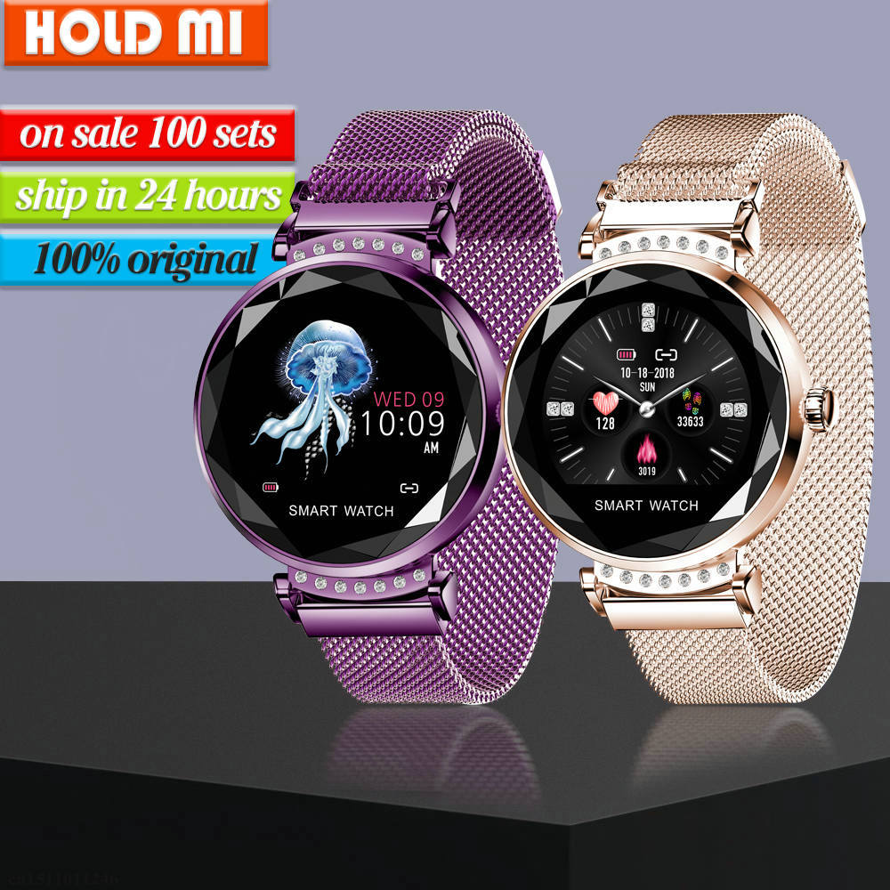 H2 Smart Watch Women Waterproof Fitness Tracker Smart Bracelet Heart Rate Monitoring Sport Bluetooth Lady Watch For Android IOS(China)