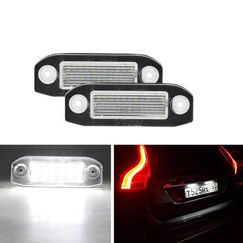 LED License Plate Lamp for Volvo C70 S80 V70 XC70 S40 V50 S60 V60 XC 60 XC90 image
