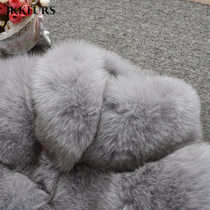 Image 5 - Womens Real Fox Fur Coat Fashion Style 2019 New Arrivals High Quality Winter Thick Warm Fur Jacket Outerwear S7362