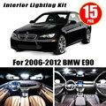 Светодиодный светильник для салона автомобиля  15 шт.  без ошибок  E90  2006-2012  Bmw E90  320i  325i  328i  330i  335i  M3  седан