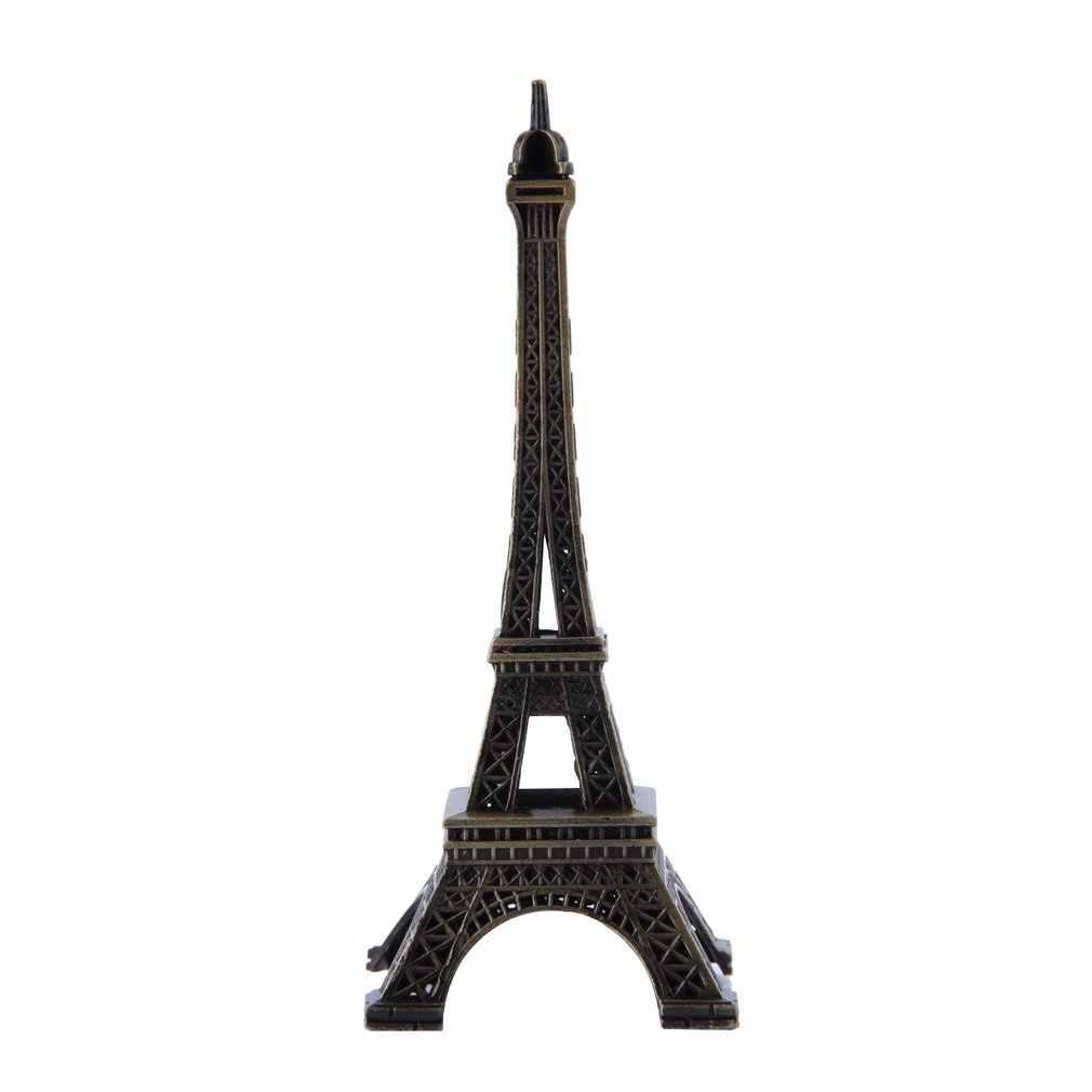 Quà Tặng Độc Đáo 10 Cm Kim Loại Nghệ Thuật Thủ Công Paris Mô Hình Tháp Eiffel In Hình Hoa Lá Antiqued Bức Tượng Đồng Du Lịch Quà Lưu Niệm Đồ Trang Trí Nhà Cửa