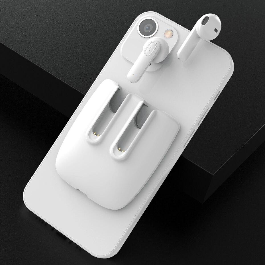 TWS Bluetooth-наушники, беспроводные наушники 5,1, водонепроницаемые HD стерео наушники с сенсорным управлением, поддержка беспроводной зарядки Qi с...